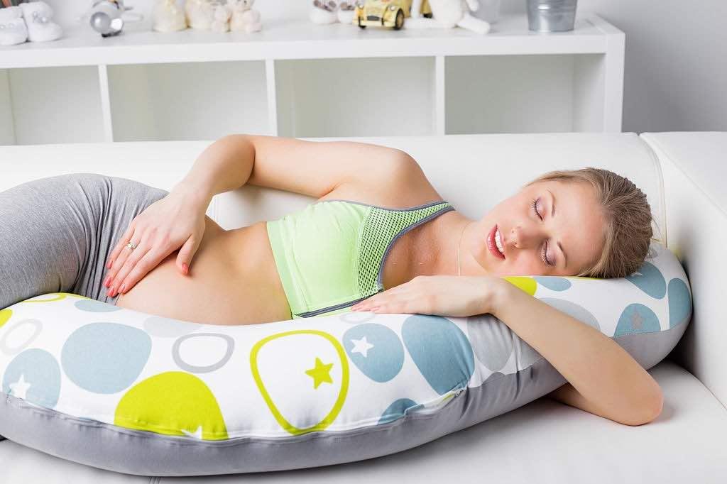 mejores almohadas para embarazo